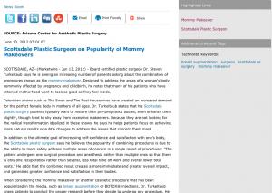 Mommy Makeover, Scottsdale AZ, Breast Augmentation, Surgeon, Surgery