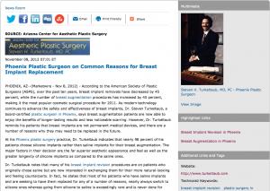 phoenix plastic surgeon, plastic surgery in phoenix, breast implant revision, breast augmentation