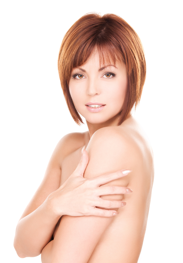 Beautiful Woman for Breast Implants