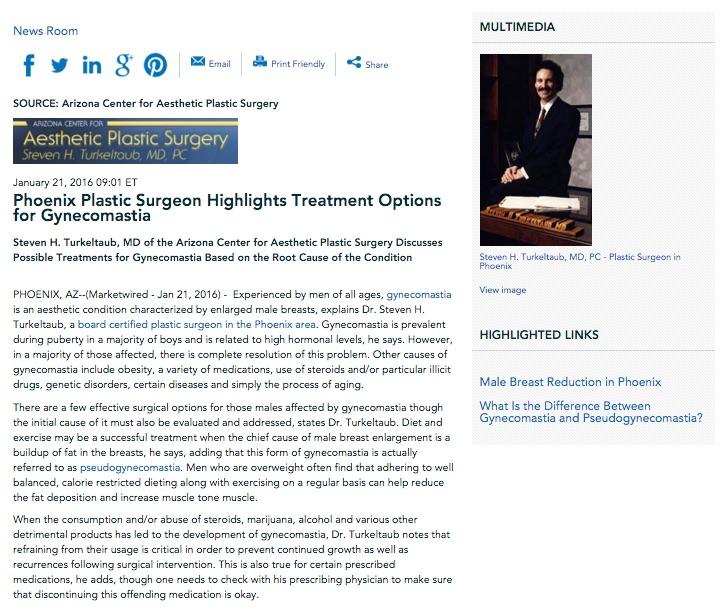 gynecomastia,plastic surgeon in phoenix,pseudogynecomastia,male breast reduction